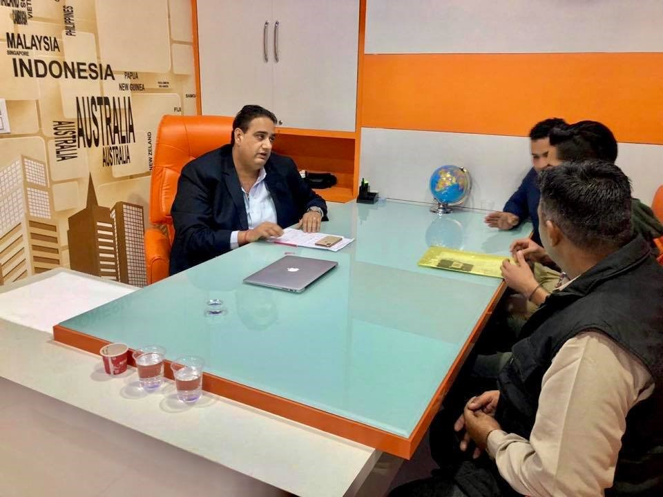 vinay-hari-haryana-office
